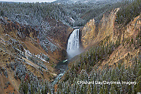 67545-09804 Lower Falls, Yellowstone National Park, WY