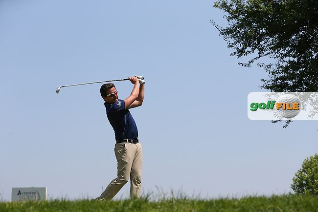 Mike Lorenzo-Vera (FRA) on the 17th tee during Round Three of the 2015 Lyoness Open powered by Greenfinity at the Diamond Country Club, Atzenbrugg, Vienna, Austria. 13/06/2015. Picture: Golffile | David Lloyd<br /> <br /> All photos usage must carry mandatory copyright credit (&copy; Golffile | David Lloyd)