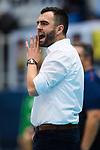18.11.2018, Halle Berg Fidel, Muenster<br />Volleyball, Bundesliga Frauen, Normalrunde, USC MŸnster / Muenster vs. VfB Suhl Lotto ThŸringen / Thueringen<br /><br />Mateusz Zarczynski (Trainer / Coach Suhl)<br /><br />  Foto &copy; nordphoto / Kurth