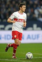 FUSSBALL   1. BUNDESLIGA   SAISON 2011/2012   18. SPIELTAG FC Schalke 04 - VfB Stuttgart            21.01.2012 William Kvist (VfB Stuttgart) Einzelaktion am Ball