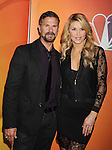 PASADENA, CA - JANUARY 16: Actor Lorenzo Lamas (L) and TV personality Brandi Glanville attend the NBCUniversal 2015 Press Tour at the Langham Huntington Hotel on January 16, 2015 in Pasadena, California.