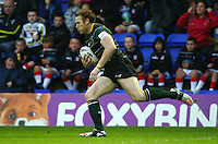 PICTURE BY VAUGHN RIDLEY/SWPIX.COM - Rugby League - 2013 International Origin - England v Exiles - Halliwell Jones Stadium, Warrington, England - 14/06/13 - Exiles Joel Monaghan.
