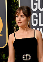 Dakota Johnson at the 75th Annual Golden Globe Awards at the Beverly Hilton Hotel, Beverly Hills, USA 07 Jan. 2018<br /> Picture: Paul Smith/Featureflash/SilverHub 0208 004 5359 sales@silverhubmedia.com