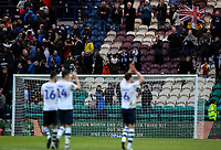 Preston North End players applaud the fans after the match<br /> <br /> Photographer Alex Dodd/CameraSport<br /> <br /> The EFL Sky Bet Championship - Preston North End v Nottingham Forest - Saturday 16th February 2019 - Deepdale Stadium - Preston<br /> <br /> World Copyright © 2019 CameraSport. All rights reserved. 43 Linden Ave. Countesthorpe. Leicester. England. LE8 5PG - Tel: +44 (0) 116 277 4147 - admin@camerasport.com - www.camerasport.com