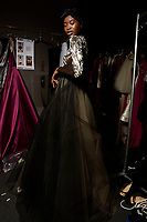 Bibhu Mohapatra 9/02/2018<br /> Backstage New York Fashion Week FW18<br /> <br /> New York Fashion Week,  New York, USA in February 2018.<br /> CAP/GOL<br /> &copy;GOL/Capital Pictures