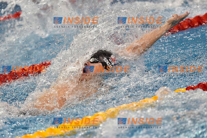 Jordan Gonzalez GIB Men's 4x50 Medley Relay<br /> Doha Qatar 04-12-2014 Hamad Aquatic Centre, 12th FINA World Swimming Championships (25m). Nuoto Campionati mondiali di nuoto in vasca corta.<br /> Photo Andrea Staccioli/Deepbluemedia/Insidefoto