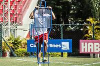 SÃO PAULO, SP, 19.08.2015 - FUTEBOL-SÃO PAULO -  João Paulo durante treino do São Paulo Futebol  no Centro de Treinamento da Barra Funda, na manhã desta quarta-feira, 19. (Foto: Adriana Spaca/Brazil Photo Press)