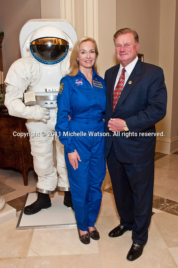 NASA Astronaut Commander Mark Kelly Book Signing Party at Keith & Alice Mosing Residence