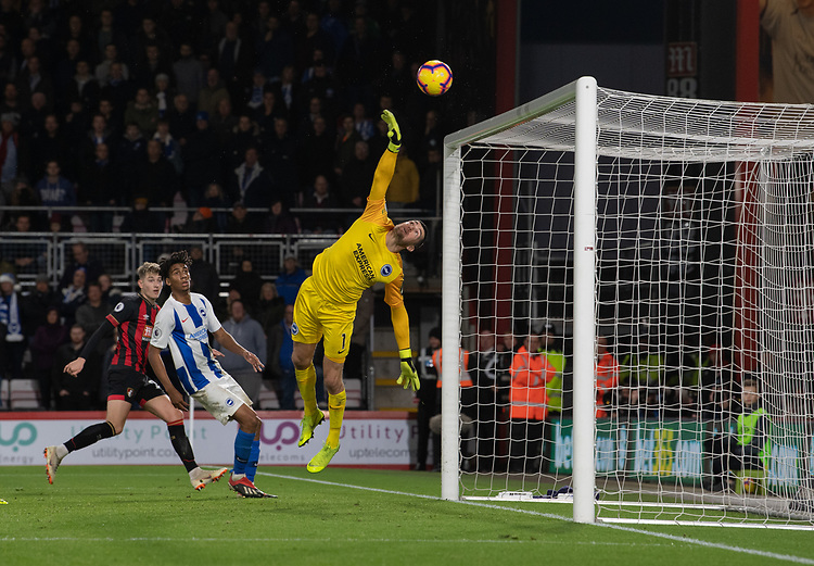 Bournemouth's David Brooks scores his side's second goal <br /> <br /> Photographer David Horton/CameraSport<br /> <br /> The Premier League - Bournemouth v Brighton and Hove Albion - Saturday 22nd December 2018 - Vitality Stadium - Bournemouth<br /> <br /> World Copyright © 2018 CameraSport. All rights reserved. 43 Linden Ave. Countesthorpe. Leicester. England. LE8 5PG - Tel: +44 (0) 116 277 4147 - admin@camerasport.com - www.camerasport.com