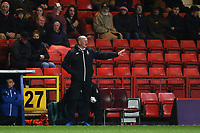 New Bradford City Manager, Simon Grayson during Charlton Athletic vs Bradford City, Sky Bet EFL League 1 Football at The Valley on 13th February 2018