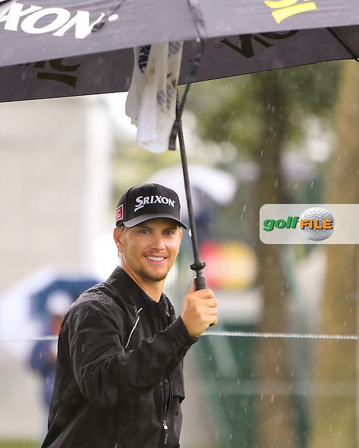 15 SEP 13 Chris Stroud during Sunday's rain delayed  Final Round of The BMW Championship at Conway Farms Golf Club in Lake Forest, Illinois.  (photo:  kenneth e.dennis / kendennisphoto.com) www.golffile.ie