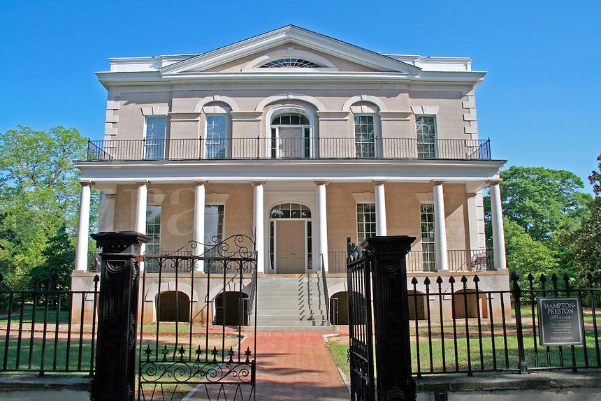 Historic Hampton-Preston Mansion and Gardens House Columbia South Carolina