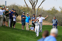 Charl Schwartzel (RSA) during the 1st round of the Waste Management Phoenix Open, TPC Scottsdale, Scottsdale, Arisona, USA. 31/01/2019.<br /> Picture Fran Caffrey / Golffile.ie<br /> <br /> All photo usage must carry mandatory copyright credit (&copy; Golffile | Fran Caffrey)