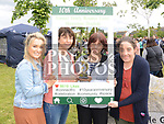 Ciara Weldon, Mairead Davis, Ann Kelly Volunteer of the Year and Majella Matthews at the 10th anniversary celebrations of McArdle Green estate in Moneymore. Photo:Colin Bell/pressphotos.ie