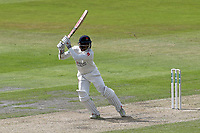 Shivnarine Chanderpaul hits 4 runs for Lancashire during Lancashire CCC vs Essex CCC, Specsavers County Championship Division 1 Cricket at Emirates Old Trafford on 9th June 2018