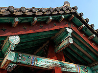 buddhistischer Tempel JeongmiSa  in Buyeo, Provinz Chungcheongnam-do, Südkorea, Asien, UNESCO-Weltkulturerbe<br /> buddhist temple JeongmiSa in Buyeo province Chungcheongnam-do, South Korea, Asia, UNESCO world-heritage