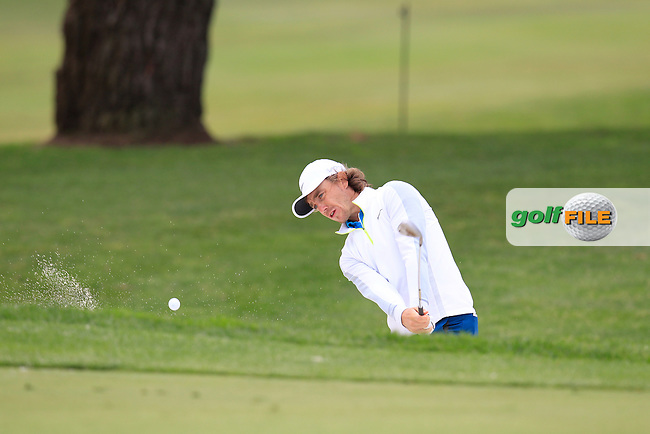 Tommy FLEETWOOD (ENG) during Pro-Am TPC Harding Park, 99 Harding Road, San Francisco, CA 94132, United States. 28/04/2015<br /> Picture Fran Caffrey, www.golffile.ie