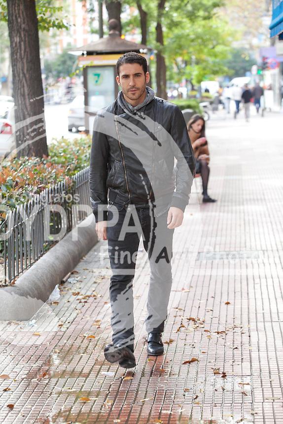 """07/11/2012. Madrid, Spain. """"Todo es Silencio"""" film. Actor miguel angel Silvestre. Photo: Nacho Lopez/ DyD Fotografos"""