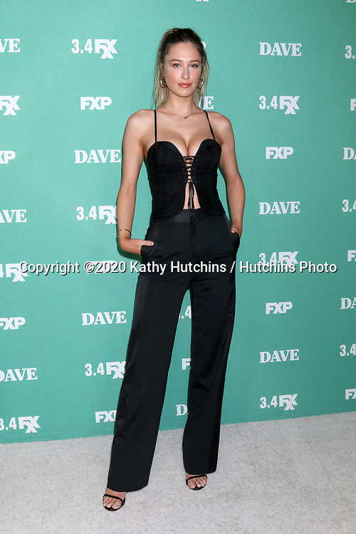"""LOS ANGELES - FEB 27:  Elsie Hewitt at the """"Dave"""" Premiere Screening from FXX at the DGA Theater on February 27, 2020 in Los Angeles, CA"""