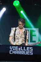 CARHAIX-PLOUGUER, FRANCE - JULY 16, 2016: Singer Pete Doherty of The Libertines performs at the Festival des Vieilles Charrues, Carhaix-Plouguer, France<br /> Picture: Kristina Afanasyeva / Featureflash