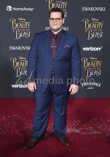 "02 March 2017 - Hollywood, California - Josh Gad. Disney's ""Beauty and the Beast' World Premiere held at El Capitan Theatre. Photo Credit: AdMedia"