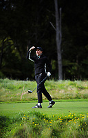 Jessica Beyeler. 2017 Asia-Pacific Amateur Championship Media and Partner Golf Day at Royal Wellington Golf Club in Wellington, New Zealand on Monday, 16 October 2017. Photo: Dave Lintott / lintottphoto.co.nz