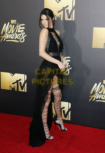BURBANK, CA - APRIL 09: Model Kendall Jenner attends the 2016 MTV Movie Awards at Warner Bros. Studios on April 9, 2016 in Burbank, California.<br /> CAP/ROT/TM<br /> &copy;TM/ROT/Capital Pictures