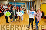Launching the Kerry Mental Health Wellness Fest 2019 in the IT Tralee on Monday.<br /> Front l to r: Jonathan O'Brien (HSE) and Lorraine Bowler (NEWKD).<br /> Back l to r: Deirdre Hegarty (Kerry County Council), Geraldine O'Sullivan (Kerry Volunteer Centre), Lena Switzer (Kerry County Council), Mairead O'Sullivan (South Kerry Development Partnership), Breda Keogan (Jigsaw Kerry), Sheila Curtin (HSE) and Ailish Brosnan (HSE).