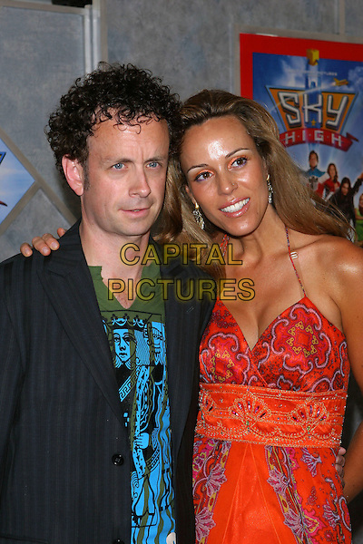 "24 July 2005 - Hollywood, CA - Kevin McDonlad and guest. World premiere of ""Sky High"" held at The El Capitan Theatre..Photo credit: Jacqui Wong/AdMedia"