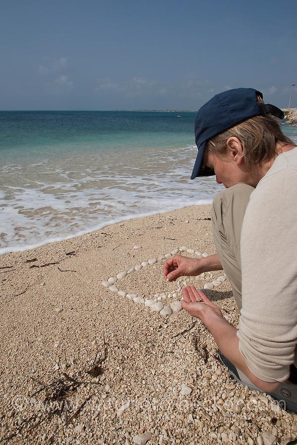 Naturkunst am Strand, Bild, Steinmosaik aus Steinen, Steinchen, Kieselsteinen, Mosaik, Strandmosaik, Strandkunst, Strandgut, Strand, Meer, Küste