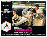 The Andromeda Strain (1971) <br /> Lobby card<br /> *Filmstill - Editorial Use Only*<br /> CAP/KFS<br /> Image supplied by Capital Pictures