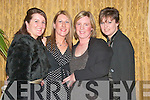 Enjoying the Listowel Badminton Club Social in The Listowel Arms Hotel on Saturday night, were Ann Marie McCarron, Listowel, Margaret Healy, Abbeyfeale, Trish Mulvihill, Listowel and Brenda McNamara, Tarbert.....   Copyright Kerry's Eye 2008
