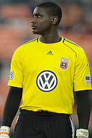 DC United goalkeeper Bill Hamid (28)  FC Dallas defeated DC United 3-1 at RFK Stadium, Saturday August 14, 2010.
