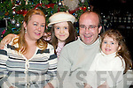 ENJOYING: Sandra, Gwenaelle, Jean Paul and Severine Masson enjoying New Year's Eve in the Top Deck Restaurant, Killorglin.   Copyright Kerry's Eye 2008