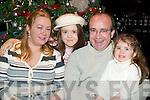 ENJOYING: Sandra, Gwenaelle, Jean Paul and Severine Masson enjoying New Year's Eve in the Top Deck Restaurant, Killorglin.   Copyright Kerry's Eye 2008