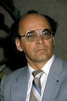 FILE PHOTO - Yvon Charbonneau, circa 1985.<br /> <br /> Photo : Pierre Roussel - Agence Quebec Presse<br /> <br /> <br /> <br /> <br /> <br /> <br /> <br /> <br /> .