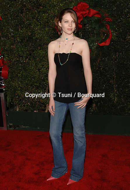 Daveigh Chase arriving at the JUST FRIENDS Premiere at the Westwood Village Theatre in Los Angeles. November 14, 2005.