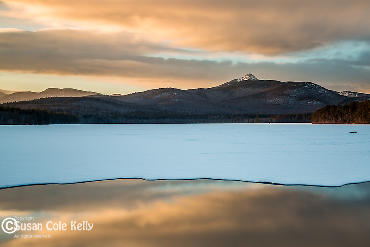 Sunset at Chocorua Lake in Tamworth, New Hampshire, USA