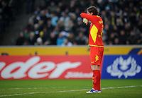 FUSSBALL   1. BUNDESLIGA   SAISON 2011/2012    15. SPIELTAG Borussia Moenchengladbach - Borussia Dortmund        03.12.2011 Torwart Roman WEIDENFELLER (Dortmund)