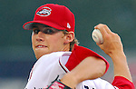 16 June 2007: Daniel Bard of the Greenville Drive, Class A South Atlantic League affiliate of the Boston Red Sox, in a game against the Columbus Catfish at West End Field in Greenville, S.C.