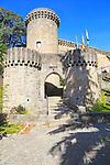 Historic castle Parador hotel, Jarandilla de la Vera, La Vera, Extremadura, Spain