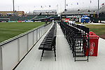March 29 2008:  Community America Ballpark as viewed from the deluxe sideline seating.  The MLS Kansas City Wizards defeated the visiting DC United 2-0 at Community America Ballpark in Kansas City, Kansas, in their 2008 season home opener.