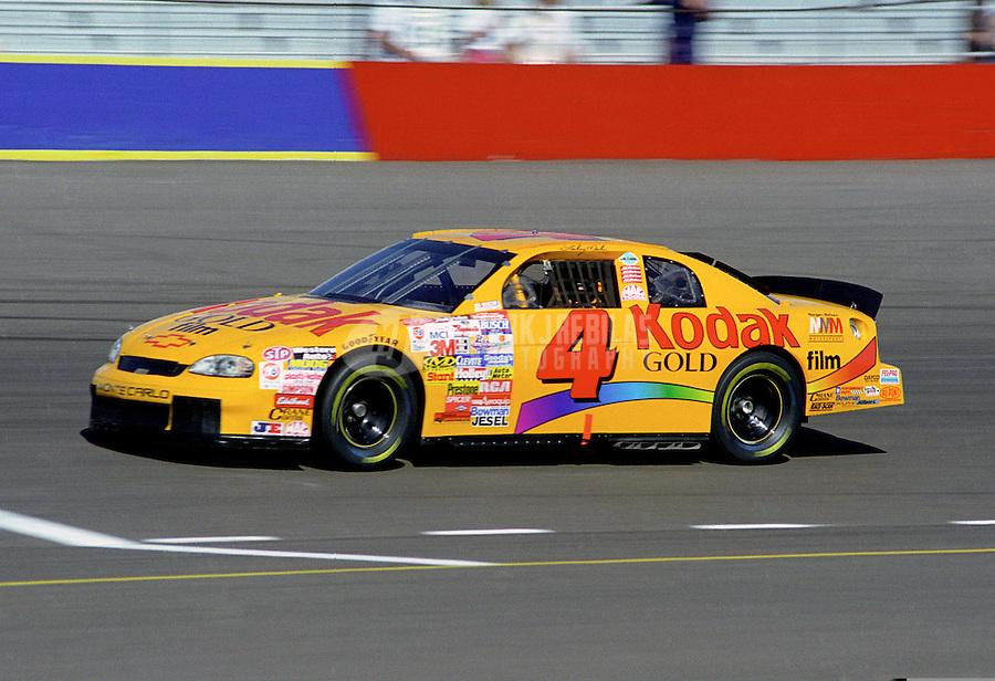 Nov. 1, 1997; Avondale, AZ, USA; NASCAR Winston Cup Series driver Sterling Marlin during the Dura Lube 500 at Phoenix International Raceway. Mandatory Credit: Mark J. Rebilas-