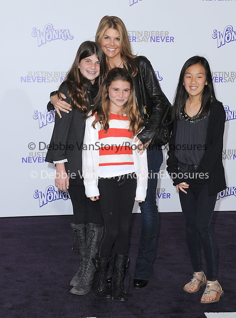 "Lori Loughlin attends the Paramount Pictures' L.A. Premiere of ""JUSTIN BIEBER: NEVER SAY NEVER."" held at The Nokia Theater Live in Los Angeles, California on February 08,2011                                                                               © 2010 DVS / Hollywood Press Agency"