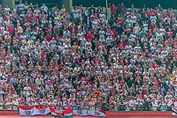 São Paulo (SP) 13/02/2019 - Futebol / Libertadores / São Paulo / Talleres -  Torcida do São Paulo durante partida contra o Talleres em jogo válido pela 2ª rodada de volta da Copa Libertadores da América 2019 no Estádio do Morumbi em São Paulo, nesta quarta-feira, 13. (Foto: Anderson Lira/Brazil Photo Press/Agencia O Globo) Esportes