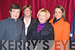 Noreen O'Sullivan, Mary Cahillane, Katie O'riordan and Linda Gannon enjoying the gala fashion show in aid of the CYMS development fund on Thursday night.