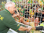 Meath manager Sean Boylan with the fans after Meath's victory on Sunday..Picture Paul Mohan Newsfile