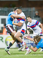 Picture by Allan McKenzie/SWpix.com - 09/02/2018 - Rugby League - Betfred Super League - Wakefield Trinity v Salford Red Devils - The Mobile Rocket Stadium, Wakefield, England - Pauli Pauli.
