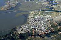 Industrial Area - Refinery San Francisco Bay, CA