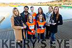 3 local groups nominated for National environmental award Beach clean up 2019.<br /> Marie's Conservation Association, Kerry Islamic Outreach Society and Laura Jane Nealon and her boys Dylan, Alex and Evan who won the Youth Award of the Year, at the Tralee Bay Wetlands on Monday.<br /> L to r: Martha Farrell, Uzair Shabbir, Alex, Evan and Dylan Nealan, Susan Vicars (Clean Coast An Taisce), Felix Nicholson and Laura Jane Nealon.